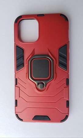 Estuche Para iPhone 12 Mini, 12, 12 Pro Antigolpes Lujo Anillo 360