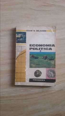 ECONOMIA POLITICA DE CESAR BELAUNDE