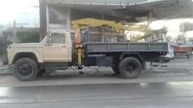 camion ford con hidrogrua