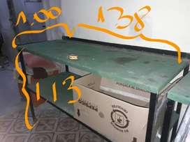 mesas de trabajo carros estanterias reforzadas