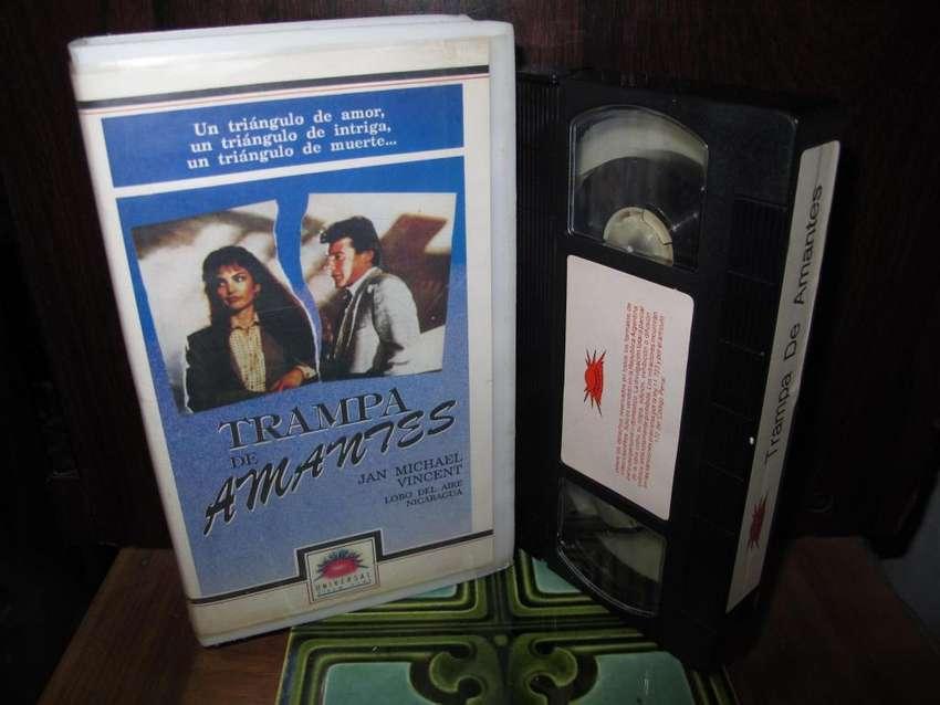 HAUNTING FEAR (JAN-MICHAEL VINCENT) - Trampa De Amantes - VHS 1990 0