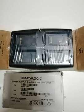 Cargador 4 Ranuras Datalogic Scorpio X3. Producto nuevo y original.