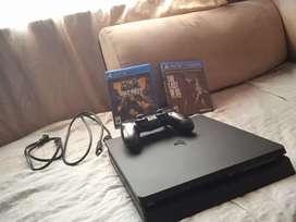 Playstation 4 slim de 1 tera de almacenamiento