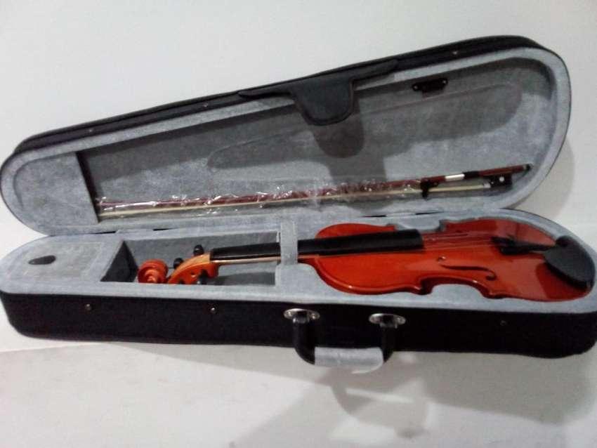 violín importado marca NATHAN MILSTEIN estuche semiduro pez arco NUEVO 0