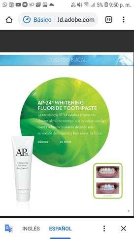 Ap24 pasta blanqueadora de dientes