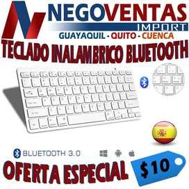 TECLADO INALAMBRICO BLUETOOTH