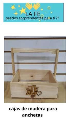 Hermosas cajas de madera