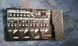 Pedal multiefectos BOSS ME -70