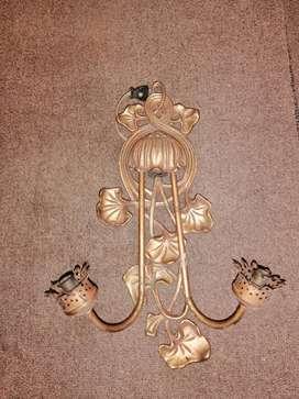LAMPARA DE PARED EN BRONCE