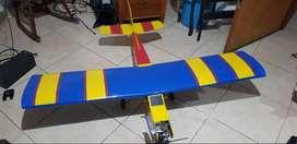 aeromodelo entrenador motor os