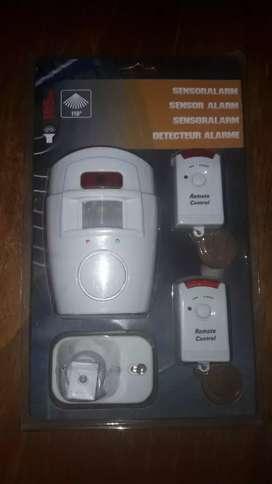 Sensor alarma con dos controles para el hogar
