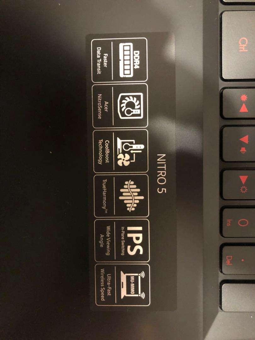 Notebook Gamer Nitro 5 0