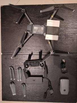 Drone Mavic Pro execelente estado y Kit profesional con Accesorios Oficiales (baterías, protectores, repuestos)