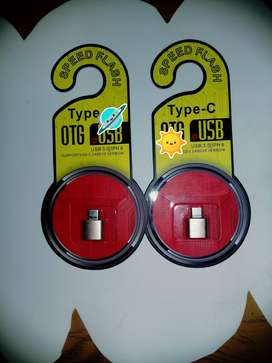 Adaptador OTG USB- Type C
