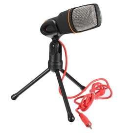 Microfono Profesional Condensador Computadora Laptop Sf666