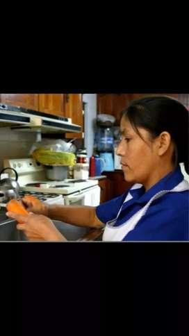 Busco empleada domestica para cocina PUERTAS ADENTRO