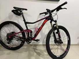 Vendo bicicleta doble suspensión