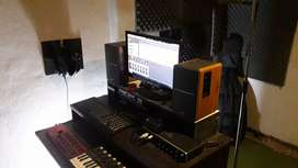 Studio de grabacion jade Grabaciones a su gusto de ecualizaciones y efectos todos los estilos