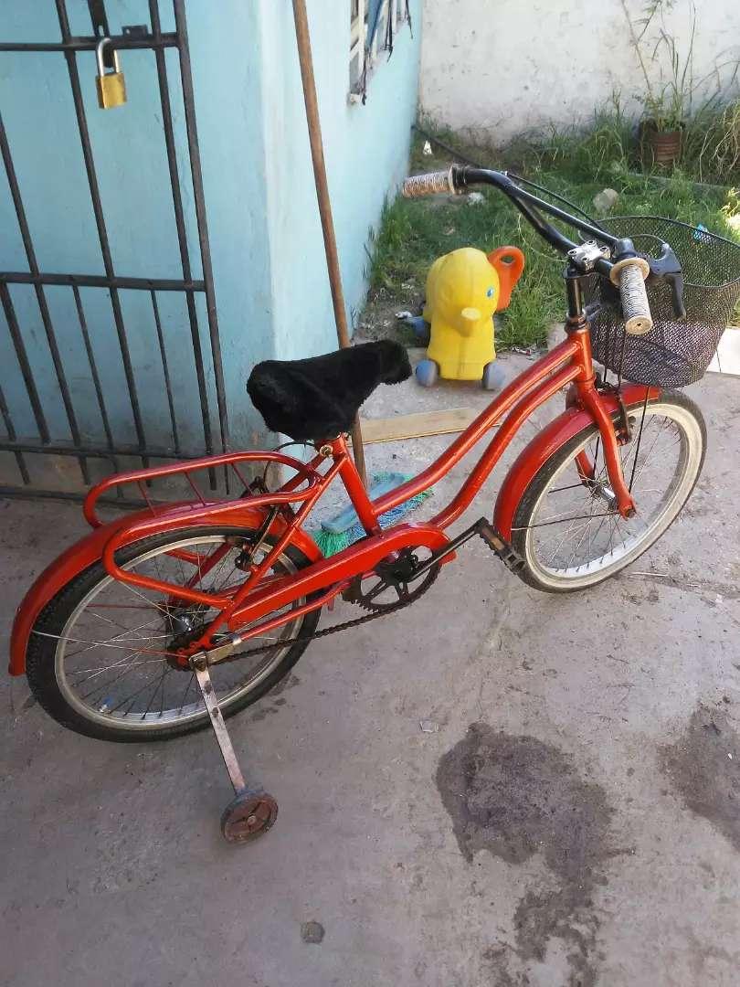 Bici rodado 20 camaras y cubiertas nuevas 0