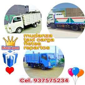 servicios de mudanzas y taxi carga y eliminación de desmonte