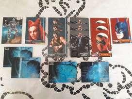 Trading Cards Batman & Robin YPF Inmaculadas Lote!!!