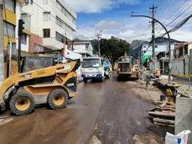 Transporte de agua potable en Tanqueros en el sur de Quito