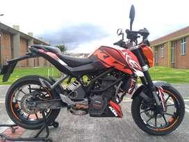 KTM DUKE 200 PERMUTO