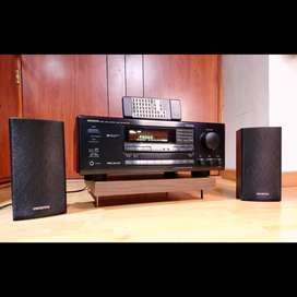 Onkyo estereo A + B y teatro 5.1 amplificador sansui marantz technics denon harman bose Yamaha Sony pioneer akai fisher