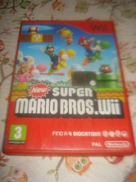Juego Wii Super Mariobros.wii Pal norma Europea Impecable