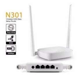 Router 2 Antenas Rompemuros Amplificador de WIFI