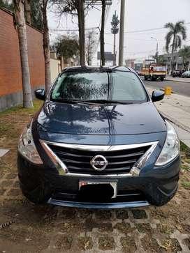 Nissan Versa 2014 automático