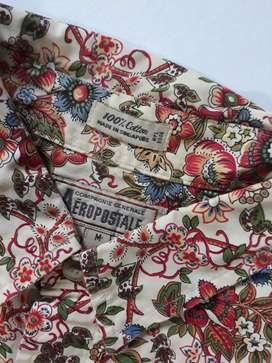 Camisa Manga larga Vintage