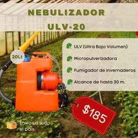 Fumigador para invernaderos Termonebulizador ULV