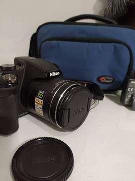 Camara Nikon Coolpix P600 Full Hd Bolso Lowepro Adata Canon
