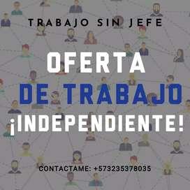 OFERTA DE TRABAJO INDEPENDIENTE