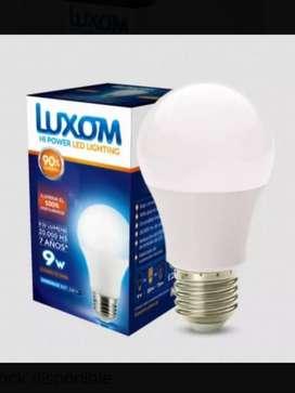 Focos led 9w luxom ( x10 o mas)