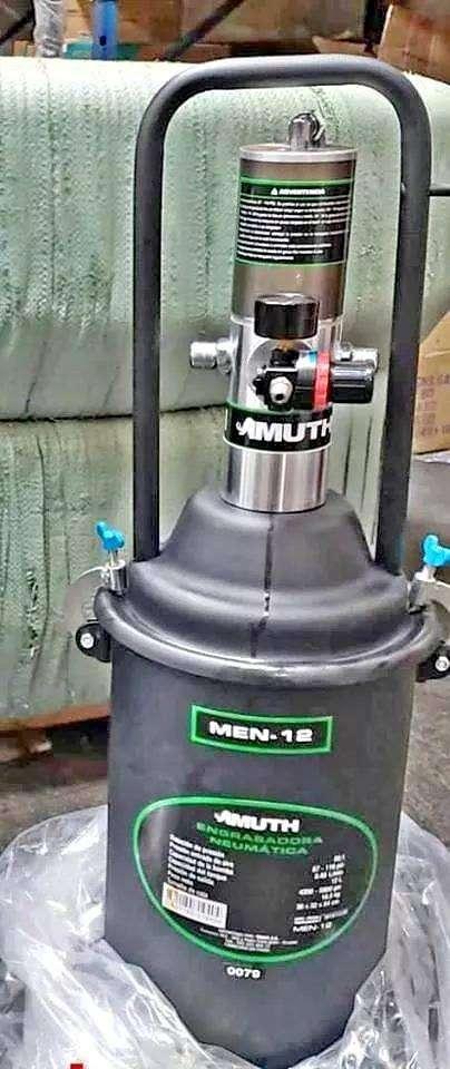 Engrasadora Neumática 12l Muth Modelo Men-12 0