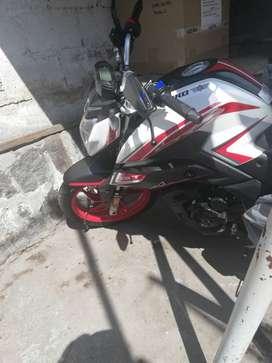 Moto blanca nueva 250cc
