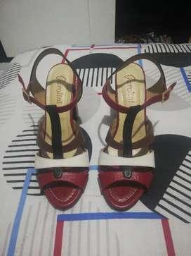 Zapatos en cuero talla 38