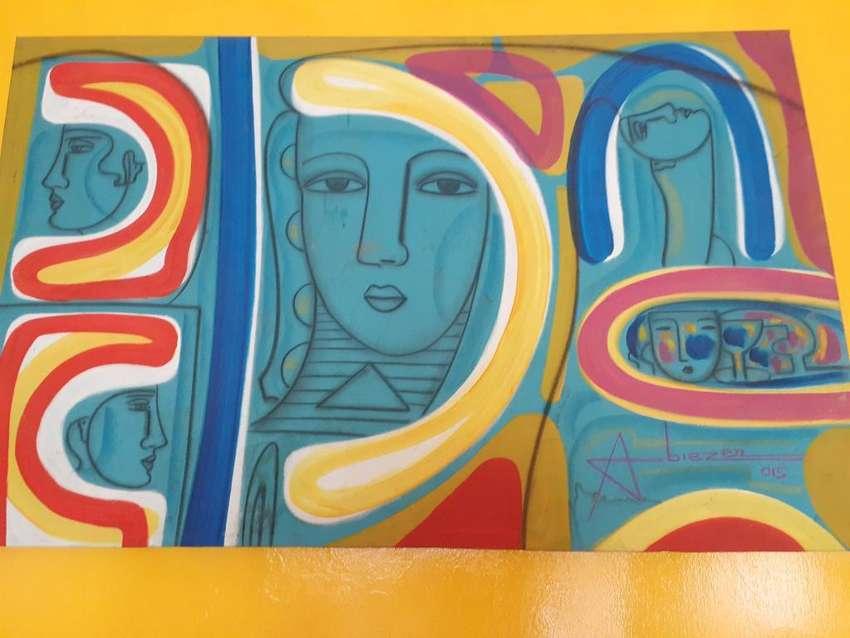 Pintura Al Oleo Original Pintor. Biezer 0