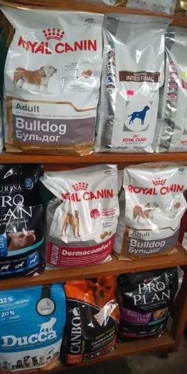 Comida de perros proplan dog chow