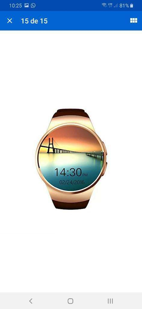 Reloj Inteligente Kw8 Bluetooth Smart Wa 0