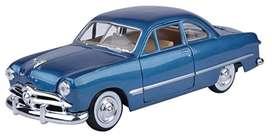 Ford Coupe 1949 Diecast, Escala 1:24, 21 Centímetro de Largo, Metálico, Motormax