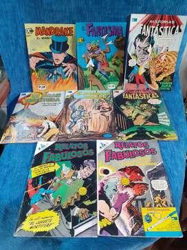 Comics mexicanos años 60s y 70s