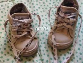 Zapatillas Nro20