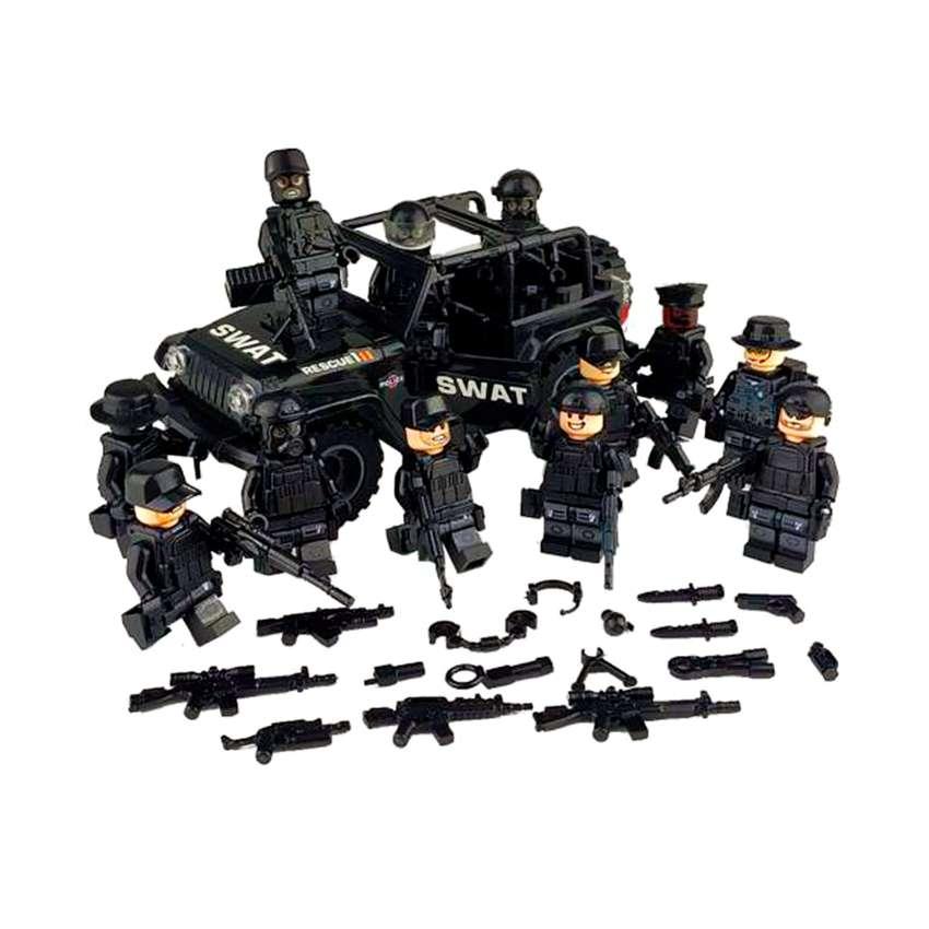 Lego de colección para armar Lego Jeep Swat