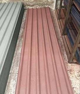 Teja termica polipropileno alta densidad tipo zinc o acesco roja o verde
