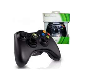 Control Inalámbrico para Xbox 360 Negro gratis funda de silicona