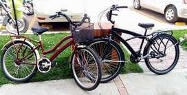 Bicicletas Vintage en muy buen estado, precio negociable.