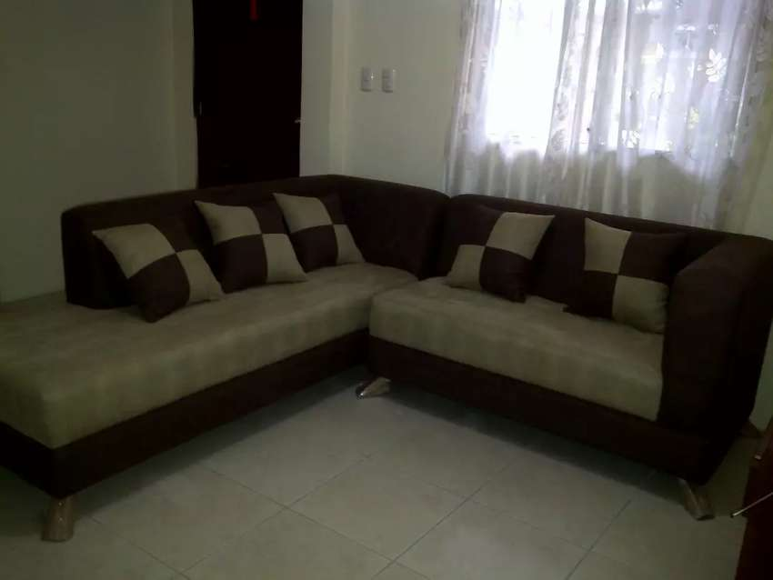 Muebles usados forma L 0